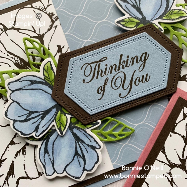 Magnolia Lane with Stampin' Blends