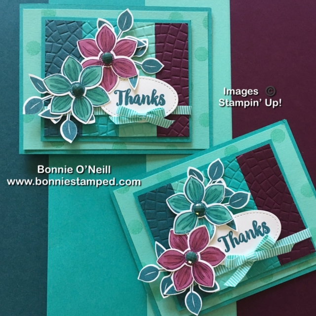 Floral Essence with Stampin' Blends