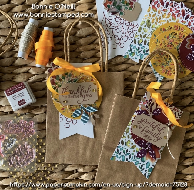 Monthly Paper Pumpkin Kit