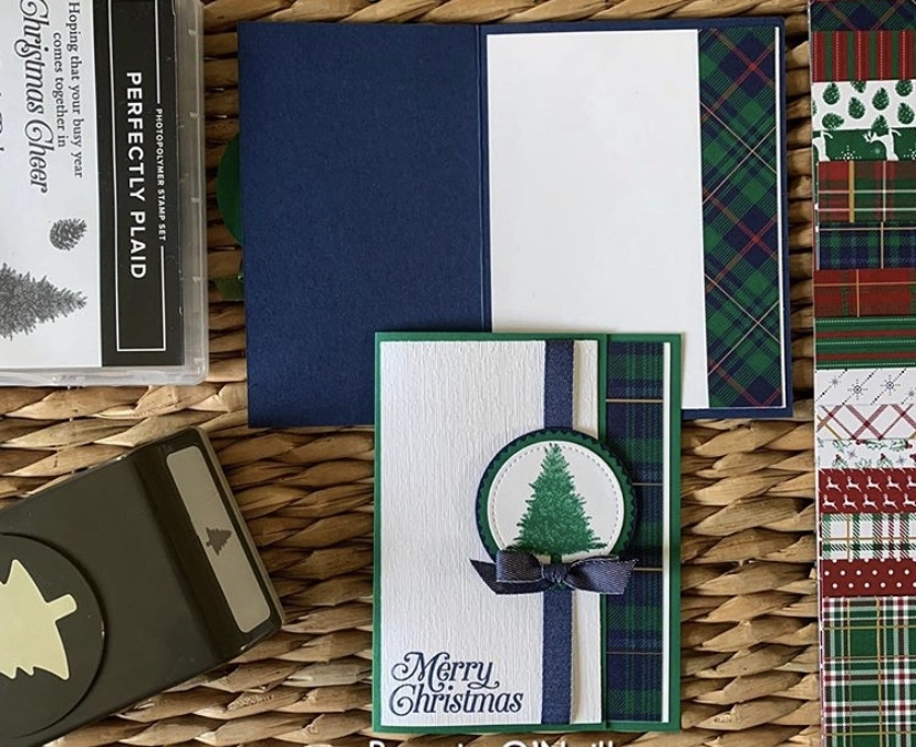 September's Holiday Card Club
