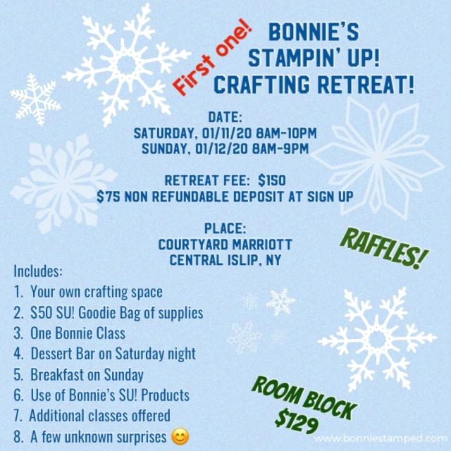 Bonnie's crafting retreat