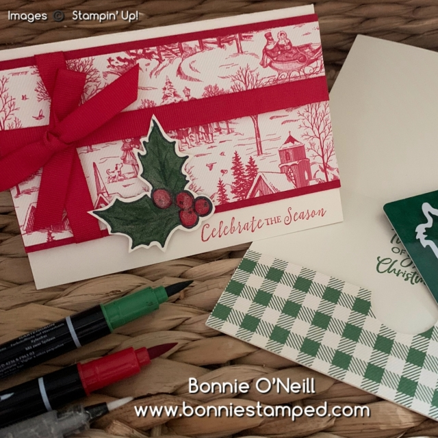 Note Cards for Holiday Card Club December 2019