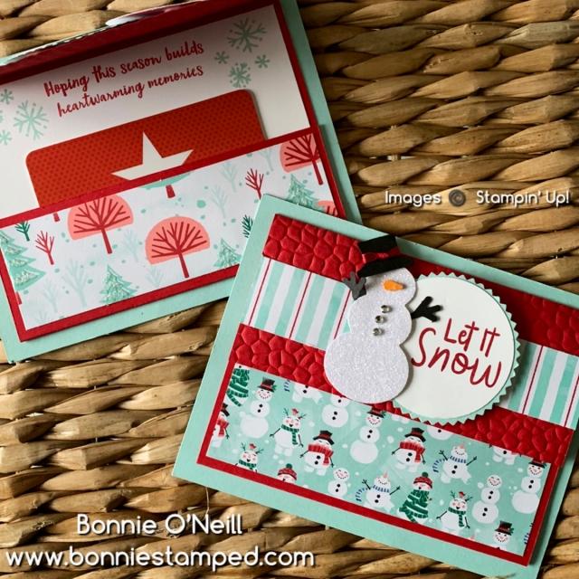 Holiday Card Club December 2019 Snowman