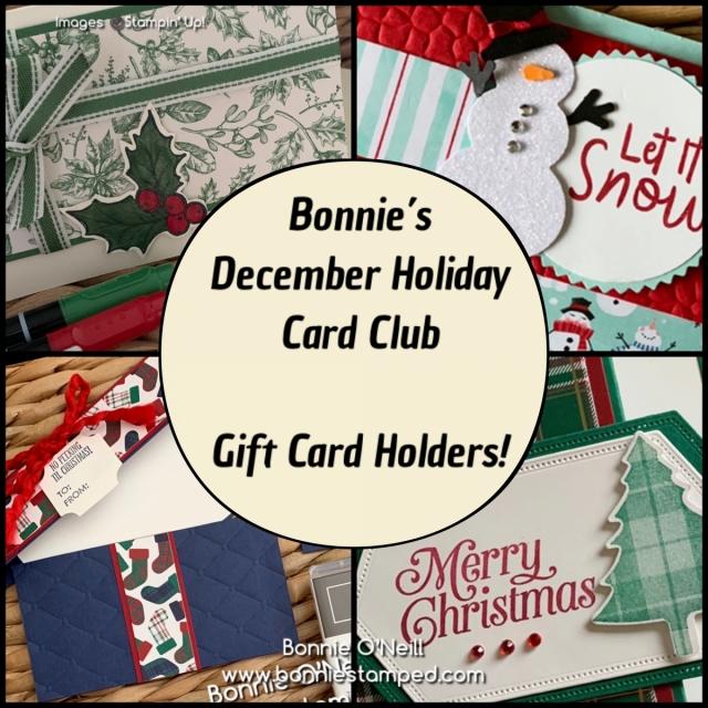 Bonnie's Holiday Card Club - December 2019