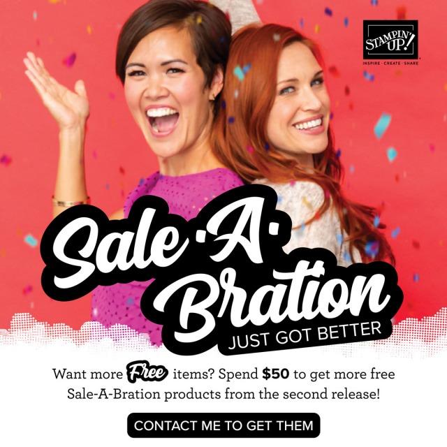 Sale-a-bration Second Round!