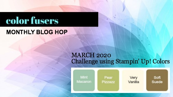 Color Fusers Blog Hop March 2020